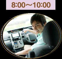 8:00〜10:00